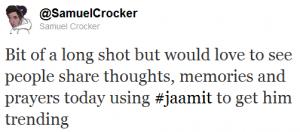 Get Jaamit Trending